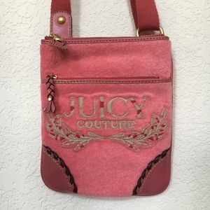 NWOT pink Juicy Couture crossbody bag